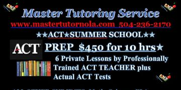 Professionally Trained by Kaplan for ACT