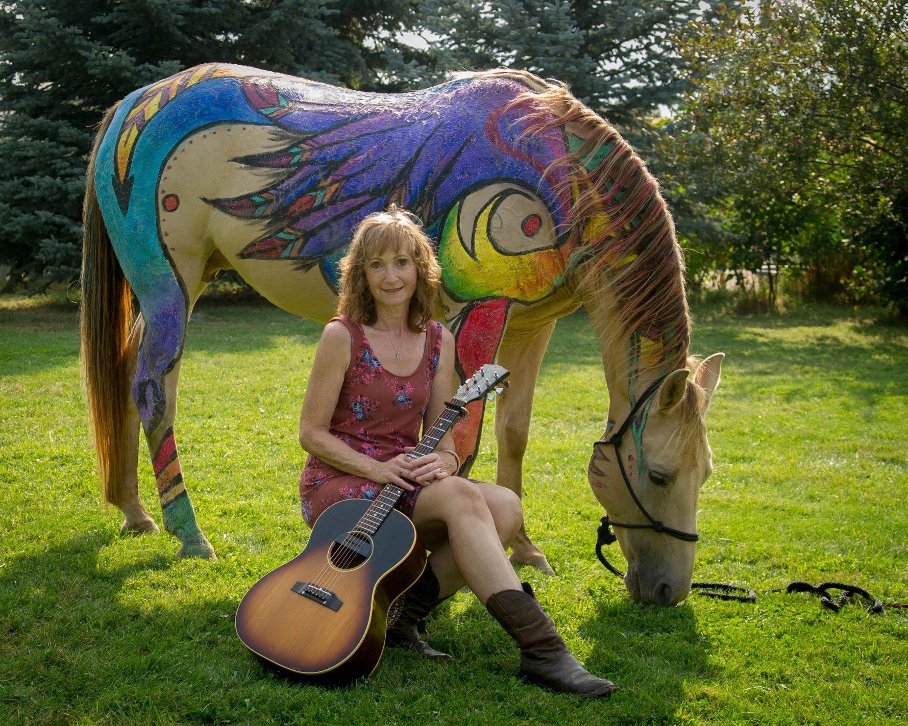Charla Bauman, 2018 Equine Art Extravaganza, Dunrovin Ranch