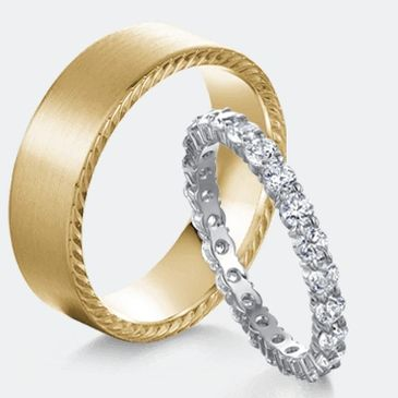 Crown Wedding Bands On Sale! Low Price Guarantee. Shop Today & Save! | Yepremian Jewelers