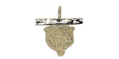 14K Gold Chicago Bears Pendant