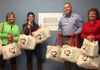 Kentucky Rescue and Restore receiving their Freedom2Hope Bags from the partnership between #Free2Hope and TJ Maxx.