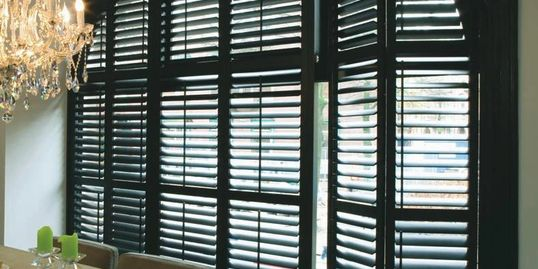 Indoor Shutters, quality and affordable window treatments, in home in Panama City Florida
