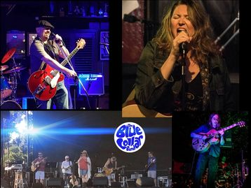 Rebecca Rydell, Rebecca Rydell & the Blue Collar Band, Matty Z., Darren Leonidas.