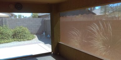 Patio Zip Screen