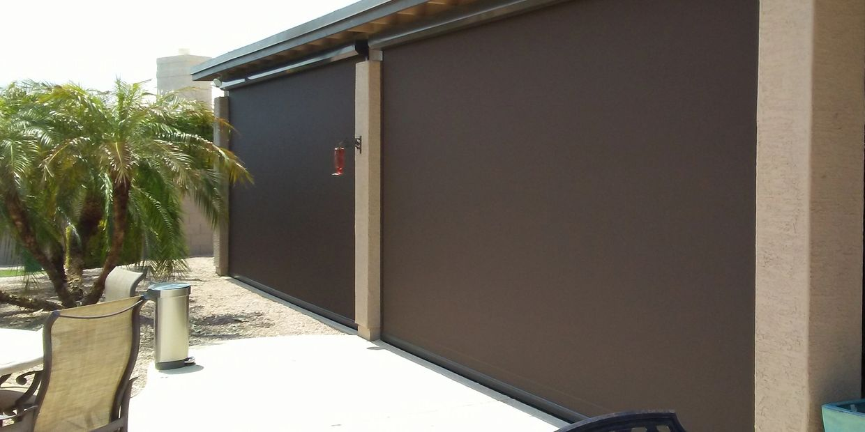Patio Zipper Track / Patio Zip Screen / Patio Zip Screens / Phifer SheerWeave