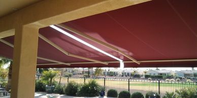 DIY RETRACTABLE AWNING / Manual & Motorized / Awning
