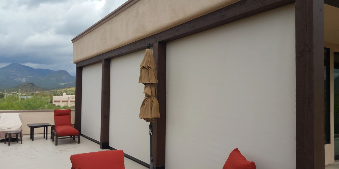 Patio Screen with Phifer 1% Screen Fabric