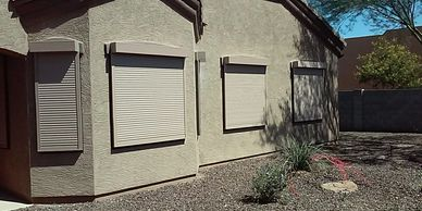 DIY Security Shutter
