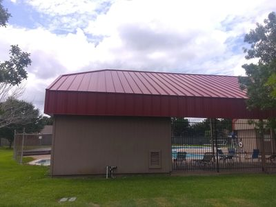 metal roof, metal roof replacement, commercial roof