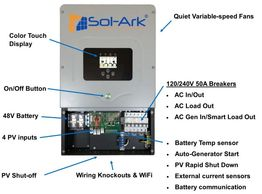 Sol-Ark 12KW all-in one Inverter solution Price: $999,980