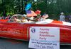 Our car in the 2017 Peachtree City Independence Day Parade!