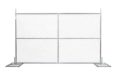Cross Brace temporary fencing panels with reasonable structure design