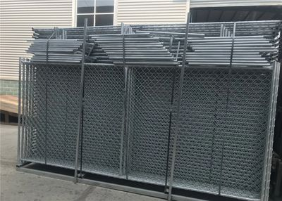 6'X12' 8'X12' Construction Fence Panels Packing In Metal Pallet