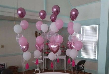 Floor Balloon Boquets