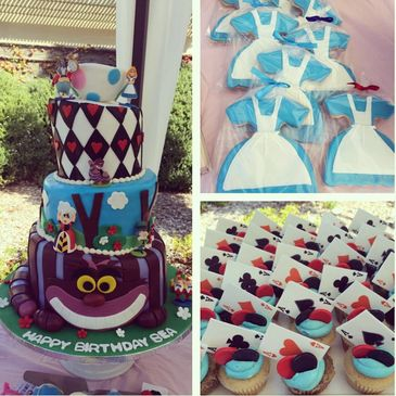 You Can Wow Your Guests With A Customized Cake Or Brighten Someones Day Our Cupcakes And Treats