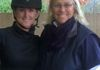 Chelsey and Dressage Icon Linda Zang