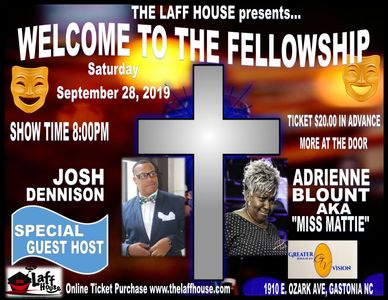 WELCOME TO THE FELLOWSHIP GREATER VISION 1910 EAST OZARK AVE. GASTONIA NORTH CAROLINA