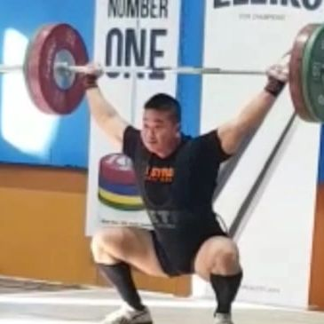 David Tran-Cong Weightlifting