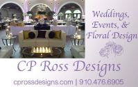 CP Ross Designs  Weddings, Events,Flowers