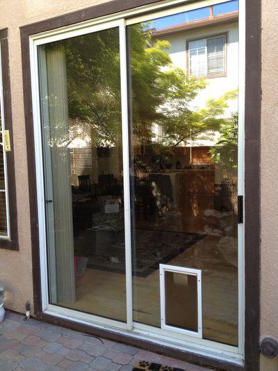 Pet Doors Advanced Sliding Door Repair Installations