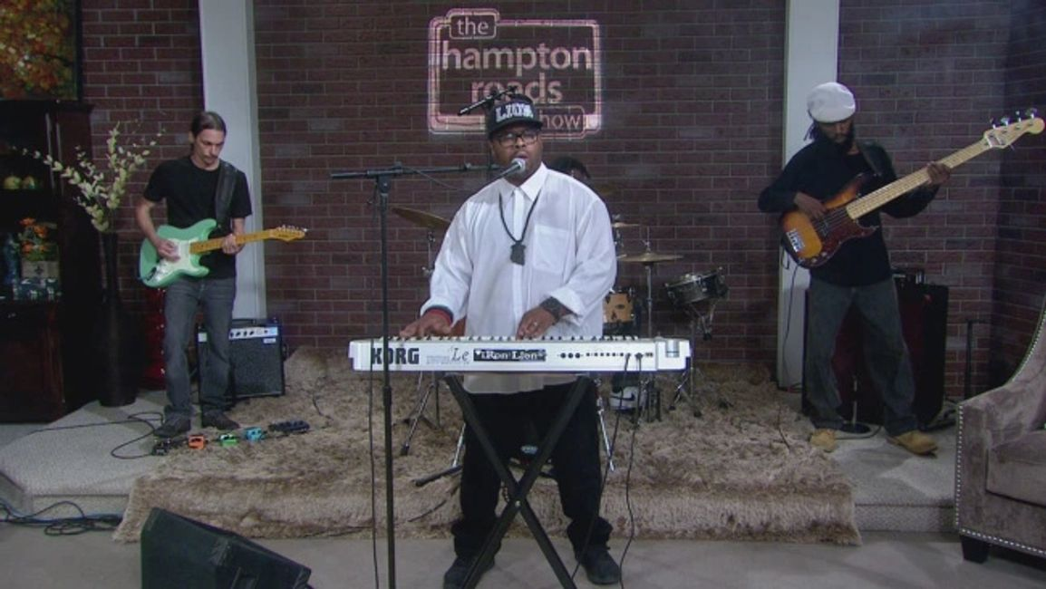 "iRon Lion appeared on WAVY TV 10 -THE ""Hampton Road Show"" - Hampton,Va."