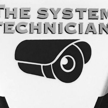 Alarm cover with The System Technician Logo printed