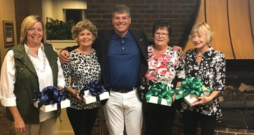 Pictured: Cindy Connell, Deb Gallagher, Chris Heavner & Sue LeMaitre.