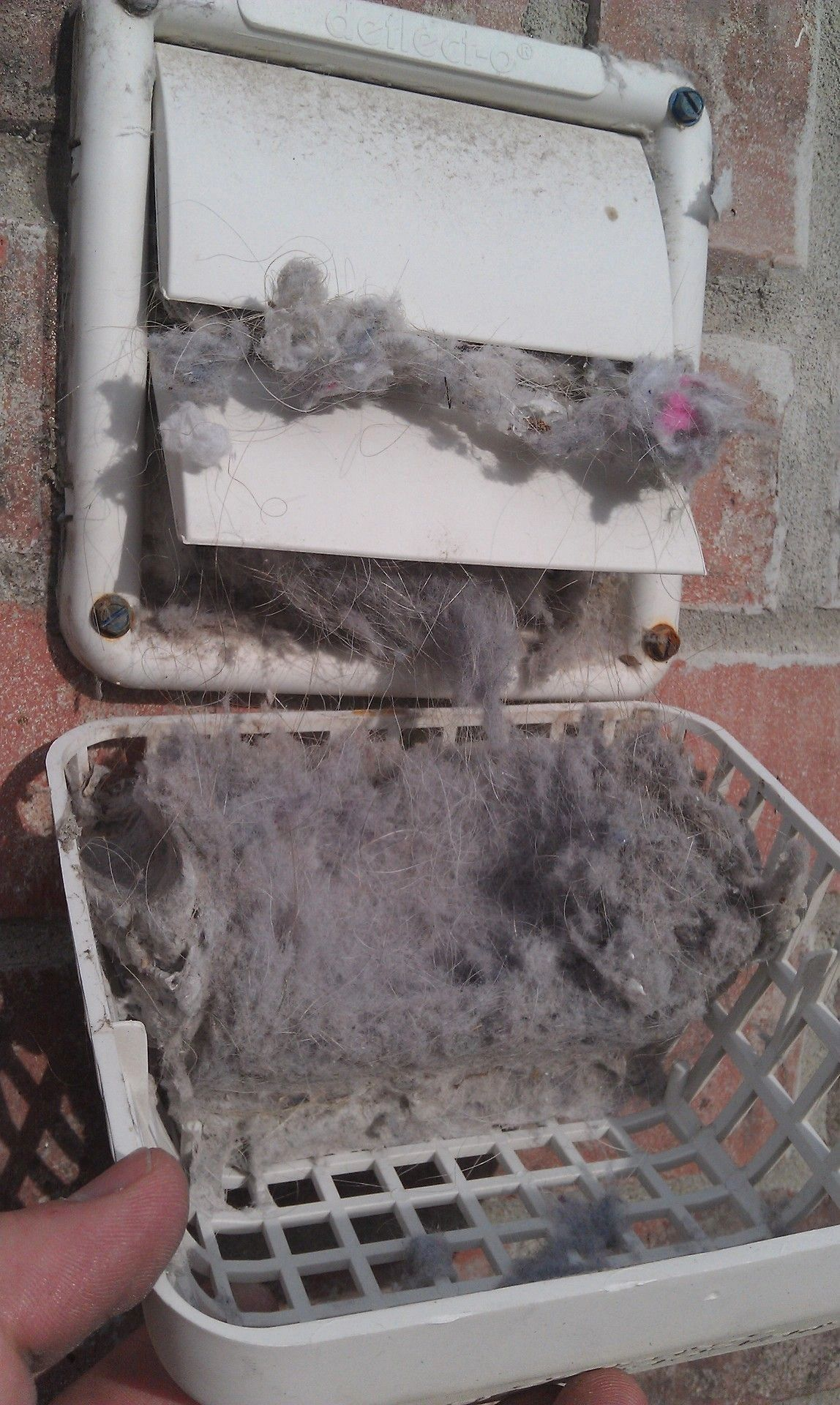 Dryer vent and duct cleaning