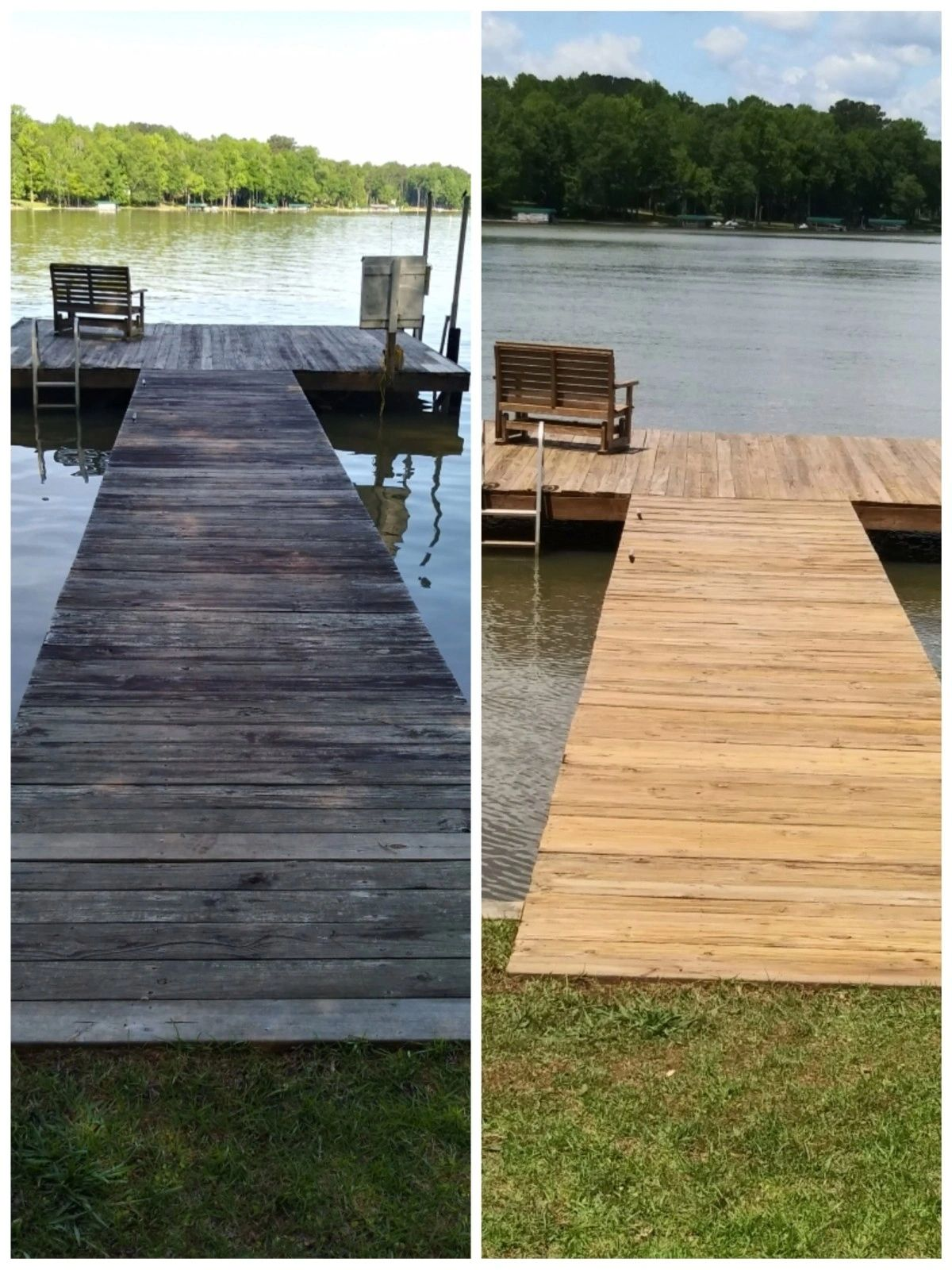 Boat Dock Cleaning
