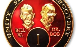 Bill and Bob medallion.