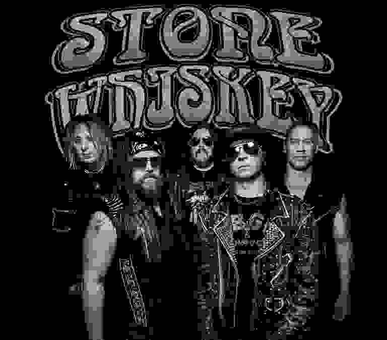 picture of Stone Whiskey band with logo
