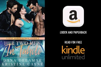 Her Two Men in Tahiti is available in ebook and paperback, or read for free in Kindle Unlimited