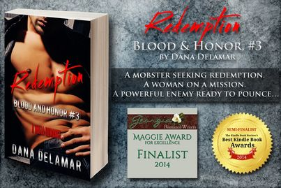 Redemption was a semi-finalist in the Kindle Book Review's 2014 Best Kindle Book Awards!