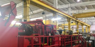 Red bud Industries Steel Coil Processing Equipment line at Ponce Metals Inc