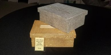 bling mesh card box,wedding card box, #eventcentral, event central, party supplies rental