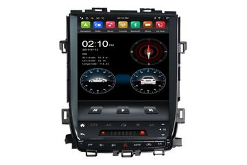 In Dash 12.1 Inch Android Vertical Screen Car Radio Multimedia For Toyota Alphard 2008-2015