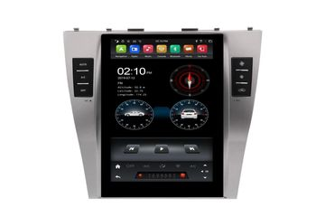 10.4 Inch Android Vertical Screen Car Radio Multimedia CarPlay Android Auto Toyota Camry 2006-2011