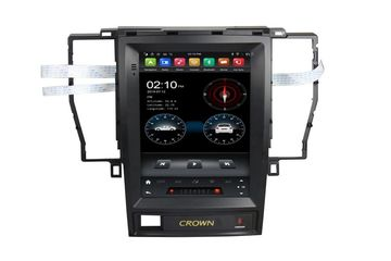 9.7 Inch Android Vertical Screen Car Radio Multimedia CarPlay Android Auto Toyota Crown 2005-2009