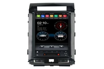 12.1 Inch Android Vertical Screen Car Radio Multimedia CarPlay Android Auto Toyota Land Cruiser