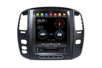 12.1 Inch Android Vertical Screen Car Radio Multimedia CarPlay Android Auto For Lexus LX470 2004