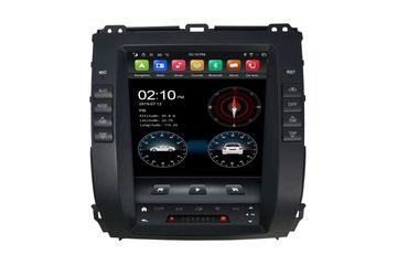 9.7 Inch Android Vertical Screen Car Radio Multimedia CarPlay Android Auto Toyota Prado 2002-2008
