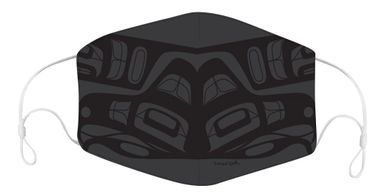 Our Freedom Eagle reusable face mask was designed by Indigenous artist Francis Dick.