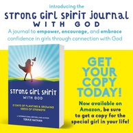Strong Girl with God Journal