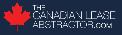 The Canadian Lease Abstractor