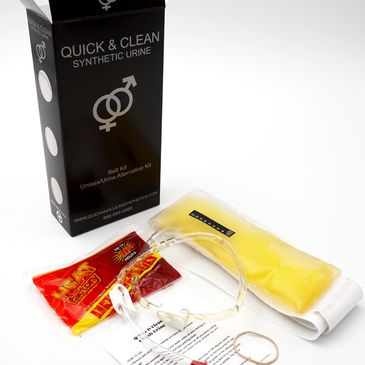 synthetic urine belt kit
