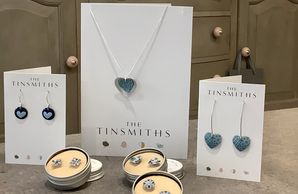 The Tinsmiths recycled handmade jewellery