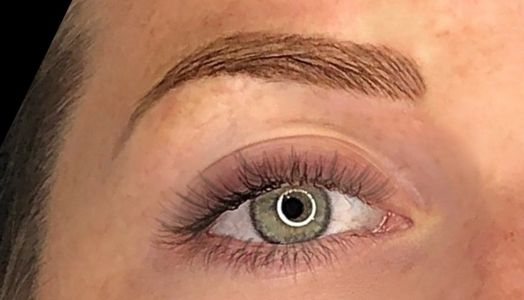 microbladed permanent eyebrow makeup