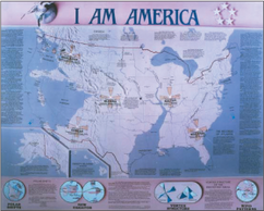 I AM America Map of Earth Changes