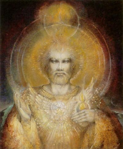 Saint Germain by Susan Boulet