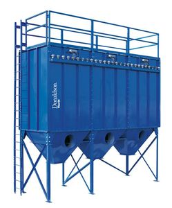 Donaldson Torit Modular Baghouse dust collector MB  crane time high air volumes heavy dust loading